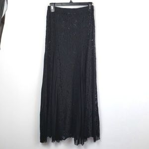 Love Culture Black Lace Skirt size small